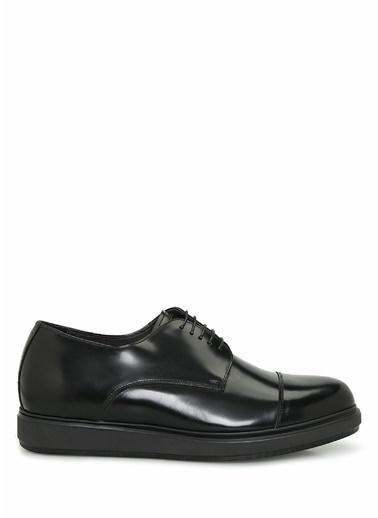 Barrett 101634099 Erkek Deri Ayakkabı Siyah